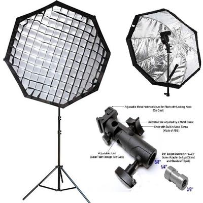 Pro 32 Quot Octagon Umbrella Softbox Flash Mount 4 Nikon Canon
